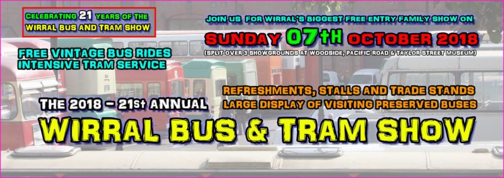 Wirral Bus & Tram Show 2018