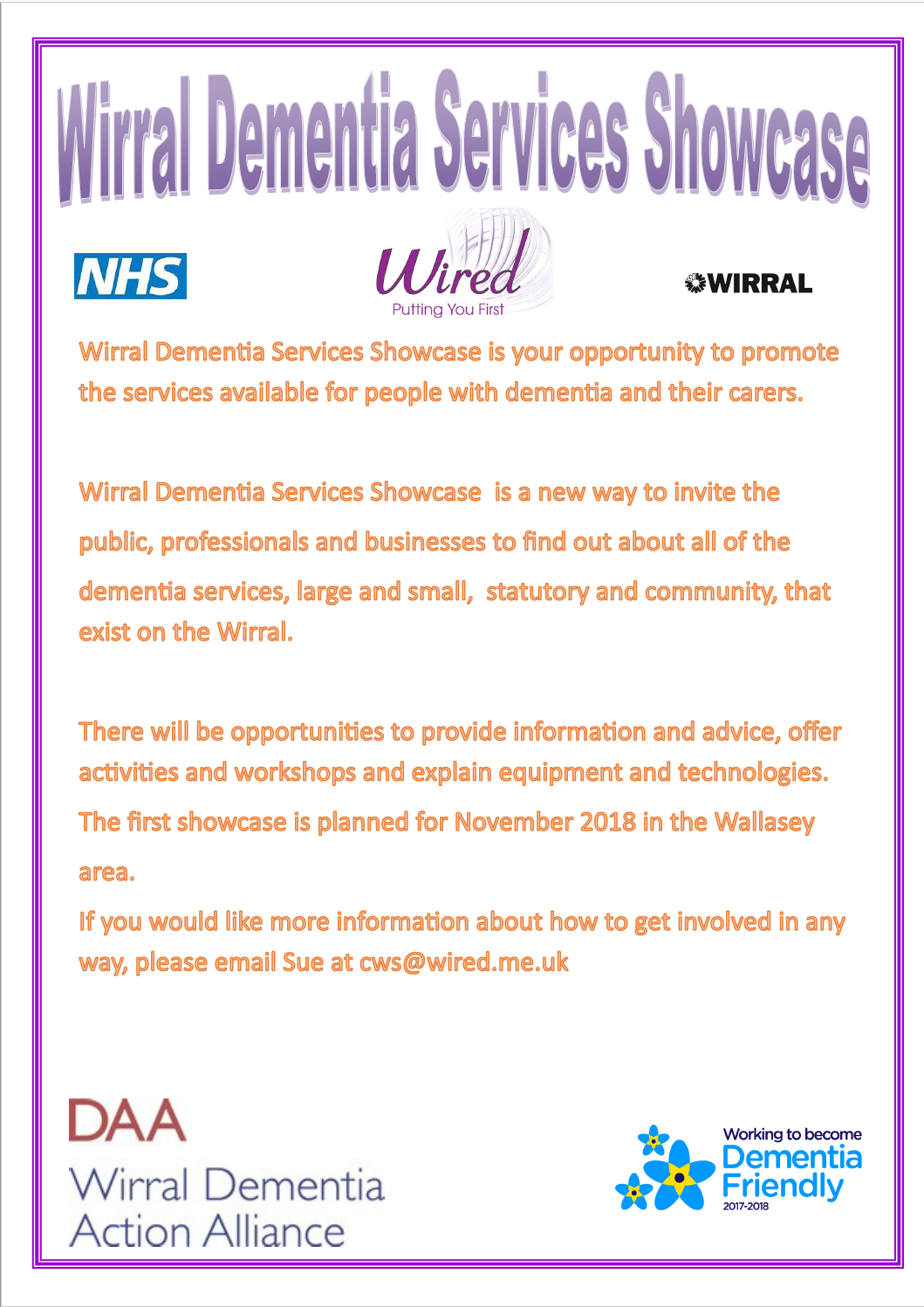 Dementia Services Showcase